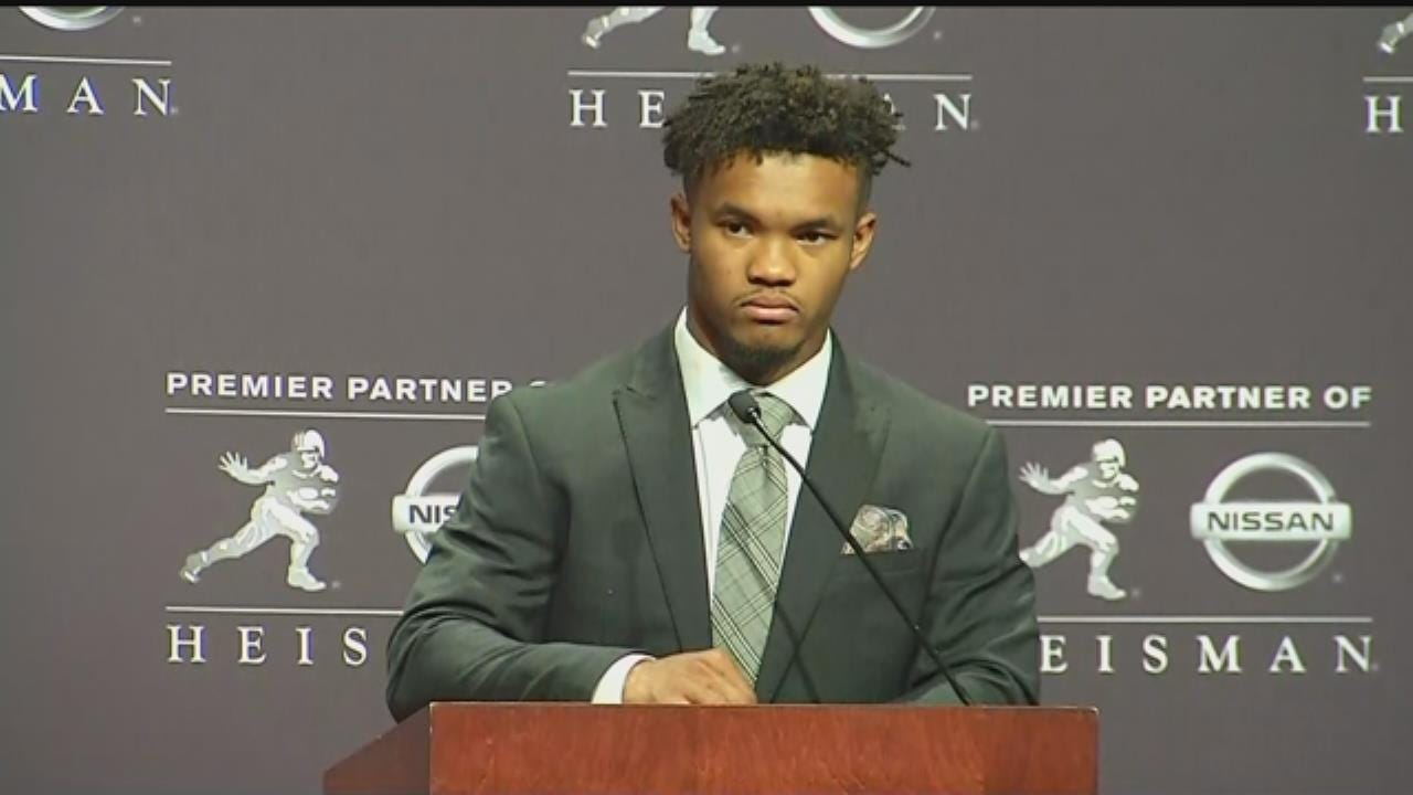 Kyler Murray On Winning Heisman Trophy