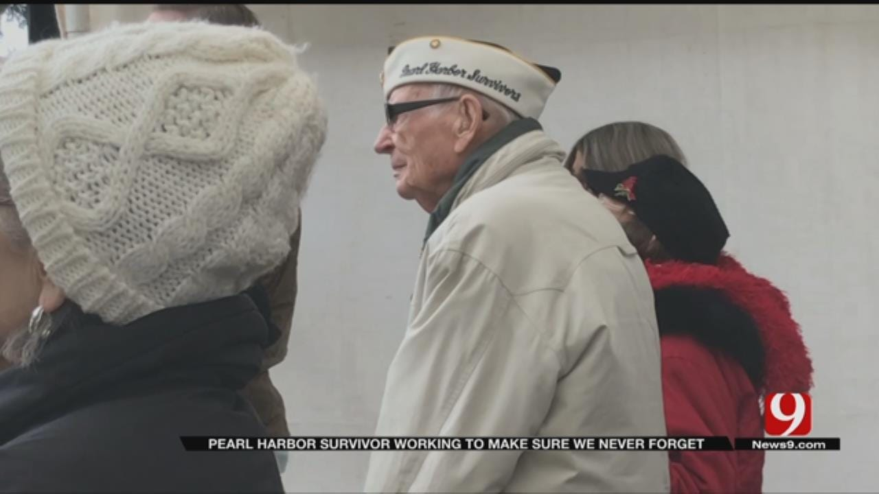 Local Pearl Harbor Survivor Shows Resilience To Remember