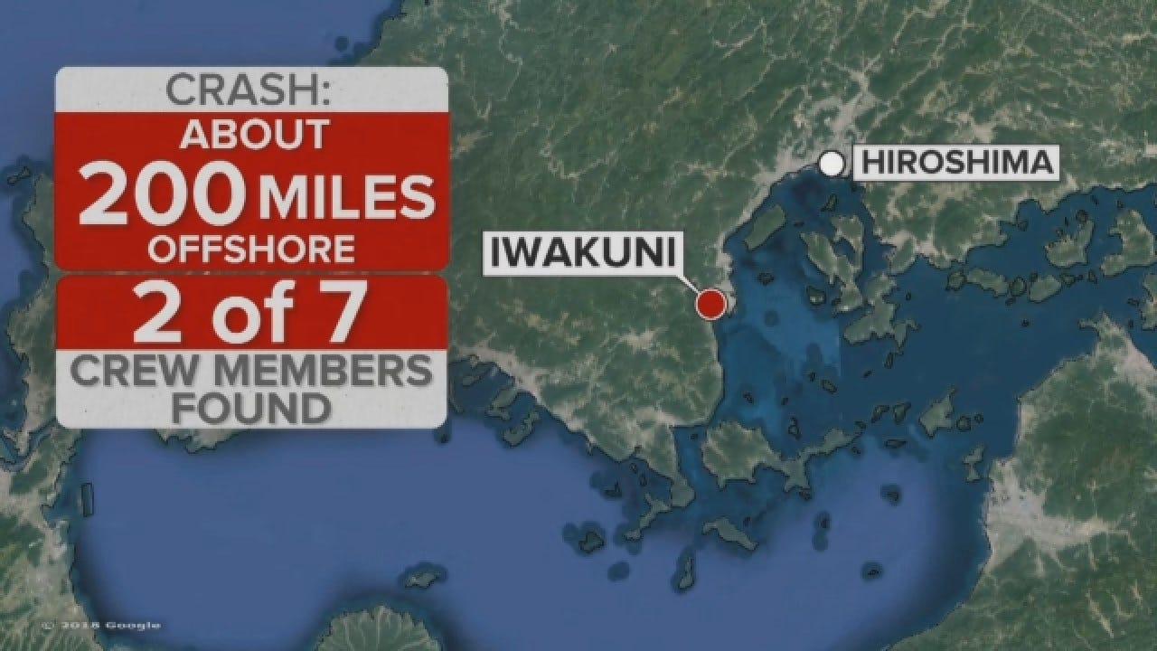 2 U.S. Marines Rescued, 5 Missing After Mid-Air Crash Off Japan