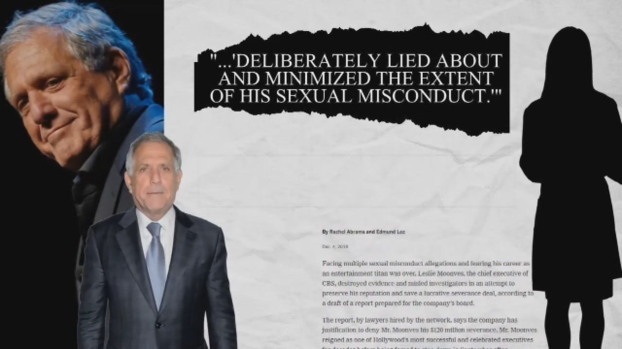 Les Moonves Accused Of Destroying Evidence In Sexual Misconduct Investigation