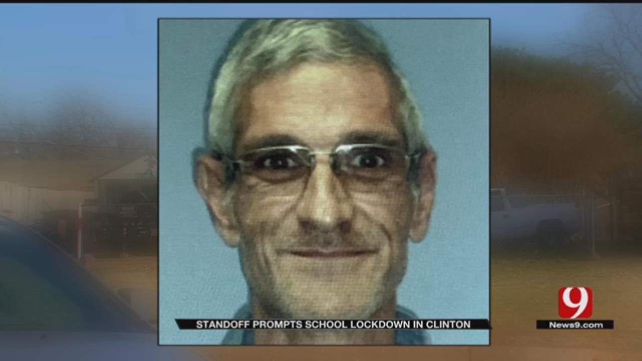 Standoff Prompts School Lockdown In Clinton
