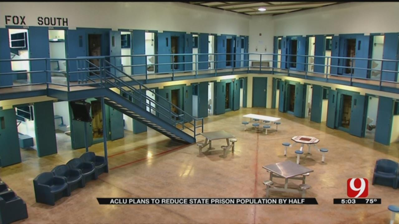 ACLU Creates Plan To Cut Oklahoma Prison Population In Half By 2025