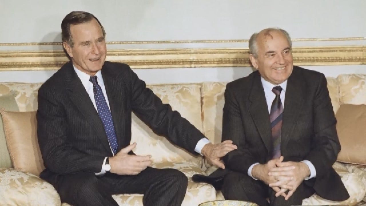 Former Presidents Share Stories About George HW Bush