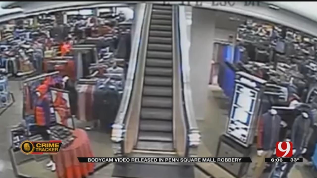 OCPD Releases Penn Square Mall Security Video Of Armed Robbery Suspects