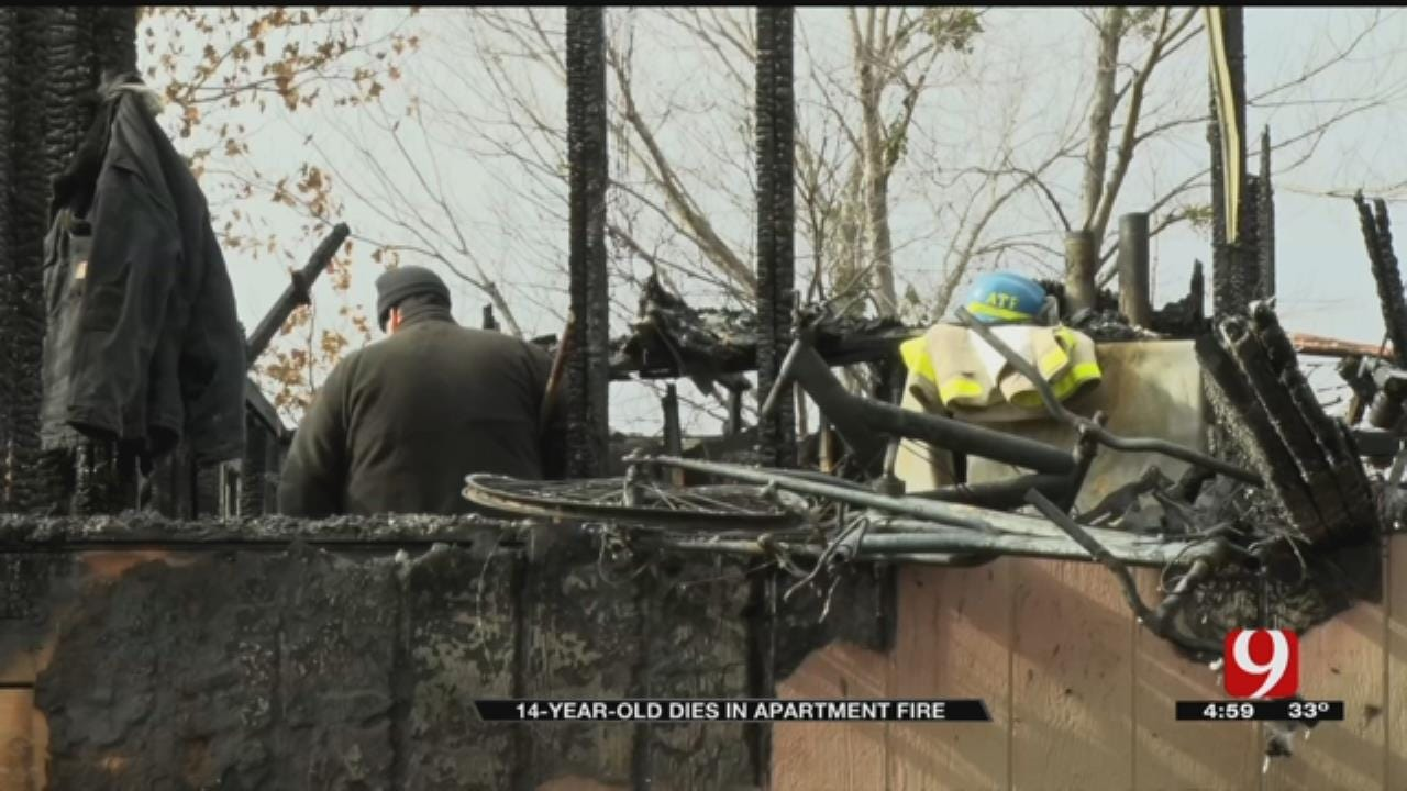 Family In Mourning After 14-Year-Old Dies In Guthrie Apartment Fire