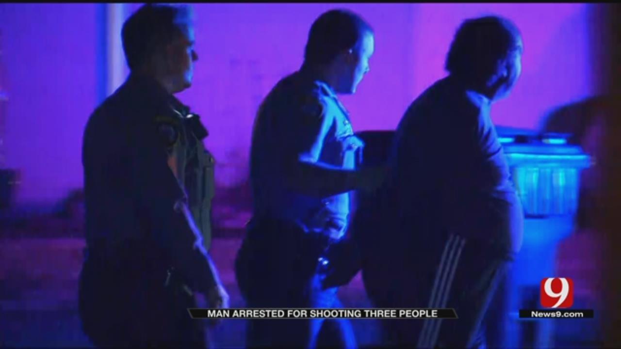 OKC Homeowner Arrested After Firing Gun At Car With Toddler Inside