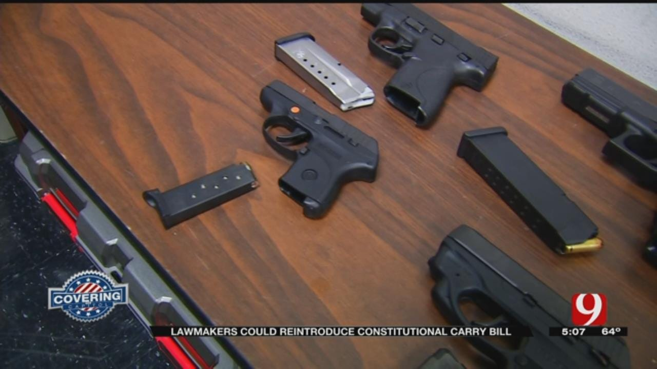 State Lawmakers Giving Constitutional Carry Another Shot