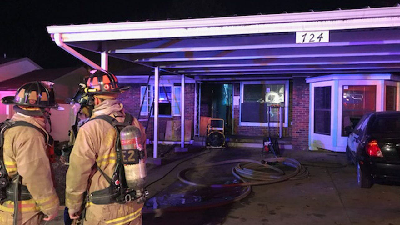Crews Called To Scene Of House Fire In NW OKC