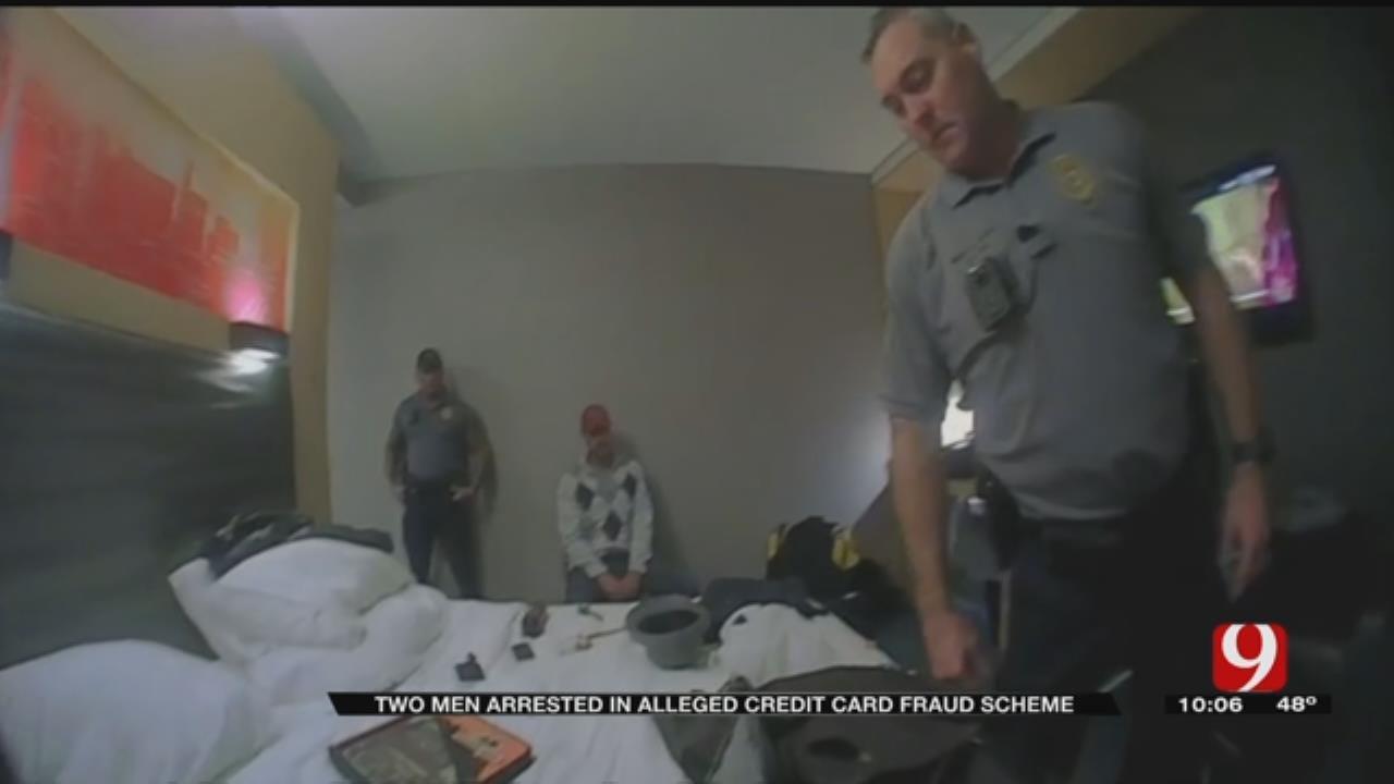 Bodycam Video: 2 Men Arrested In Alleged OKC Credit Card Fraud Scheme