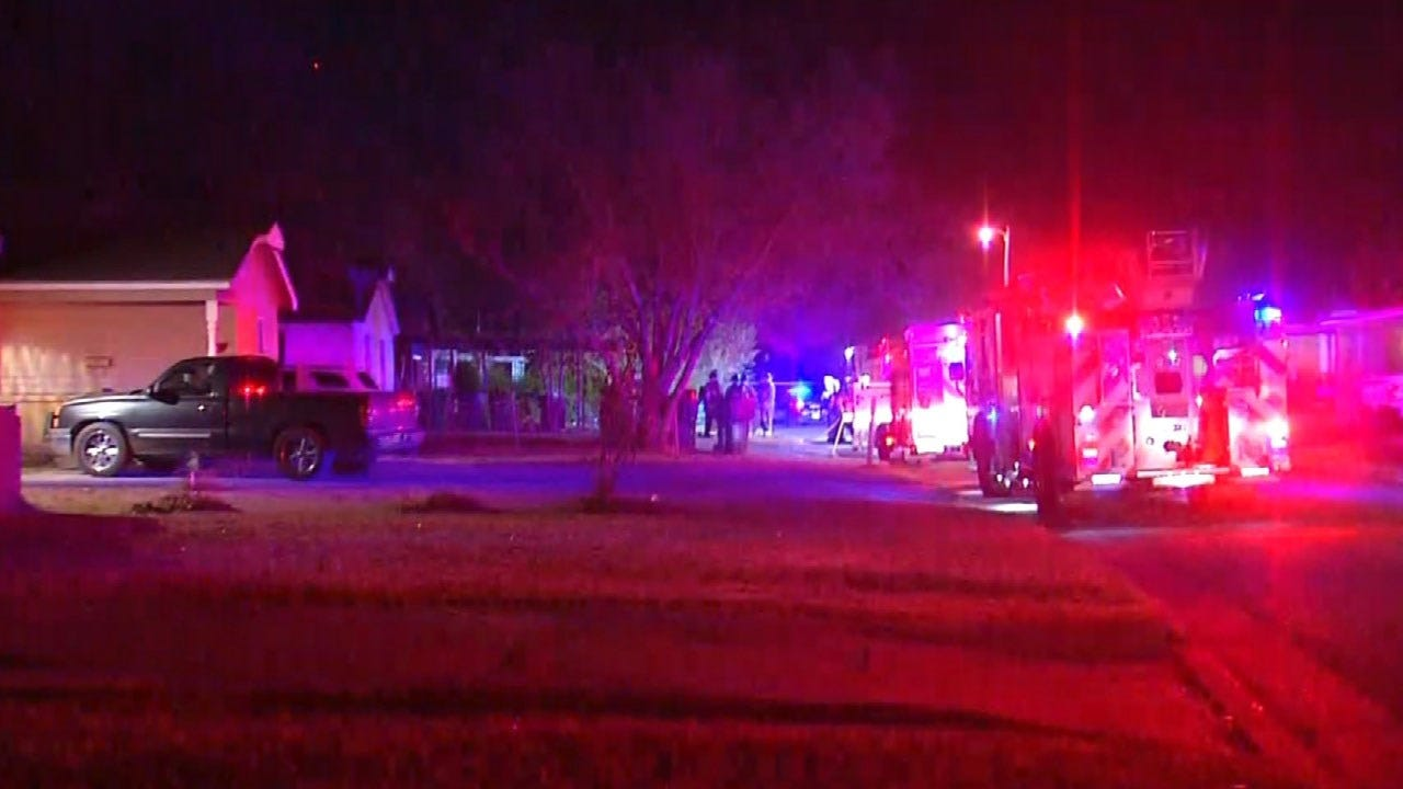 Crews Respond To House Fire In SE OKC