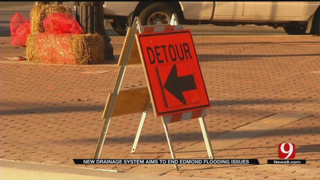 New Drainage System Aims To End Edmond Flooding Issues
