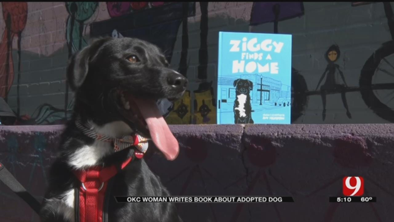 OKC Rescue Dog Is Inspiration For New Children's Book