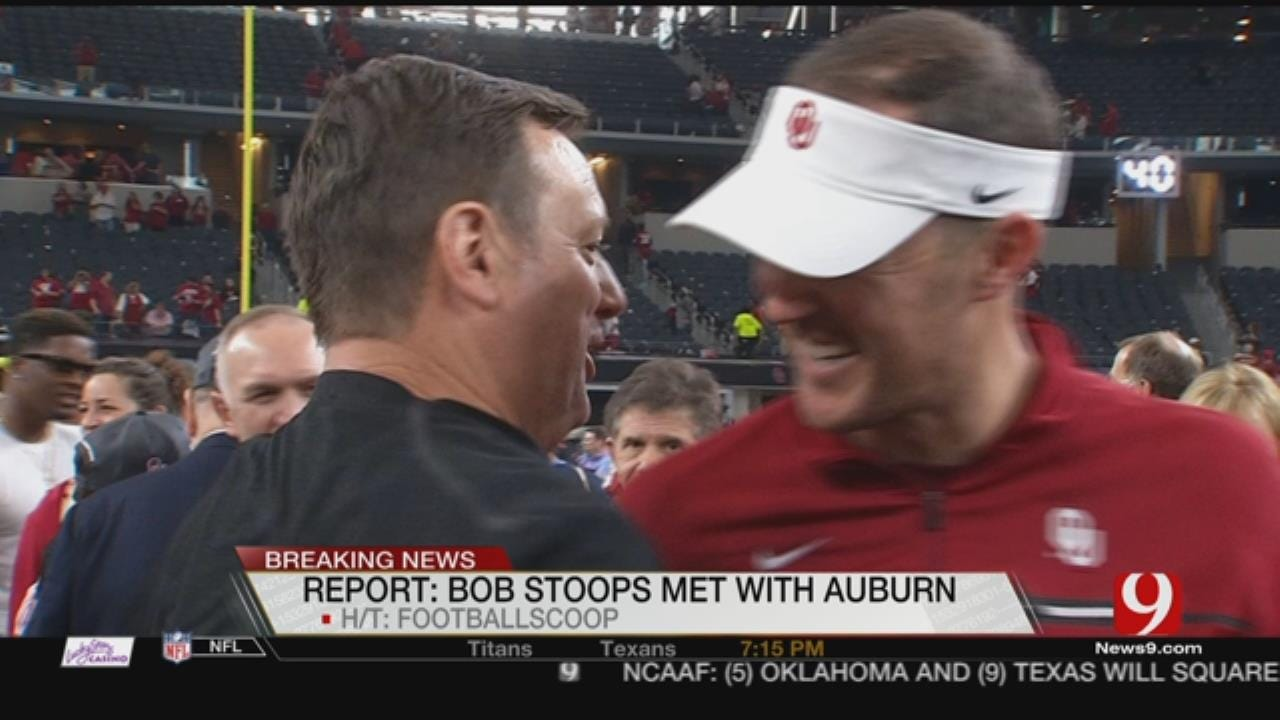 Reports: Bob Stoops Met With Auburn
