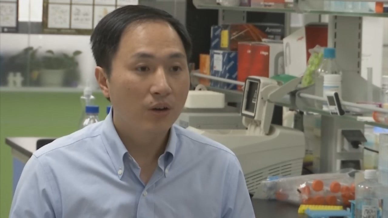 Chinese Researcher Claims To Have Genetically Altered Babies Using CRISPR