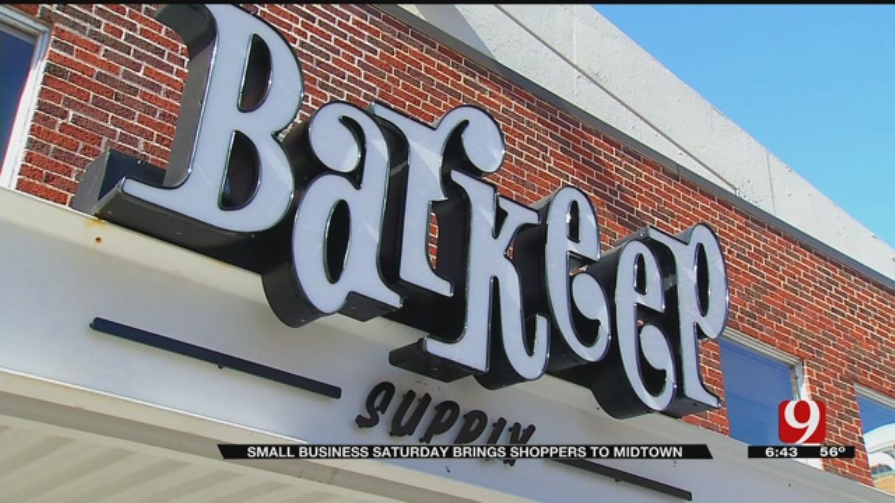 Small Business Saturday Kicks Off Holiday Shopping Season In OKC