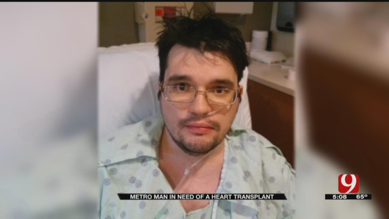 Norman Man Thankful For Life As He Awaits Heart Transplant