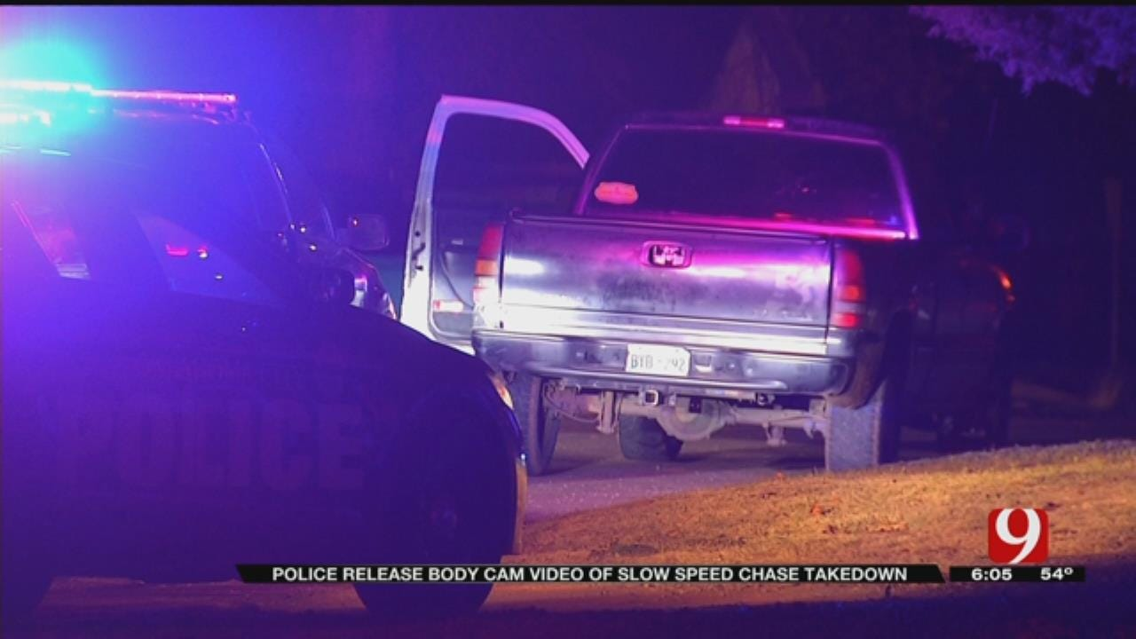 OCPD Releases Bodycam Video Of Slow Speed Chase, Takedown