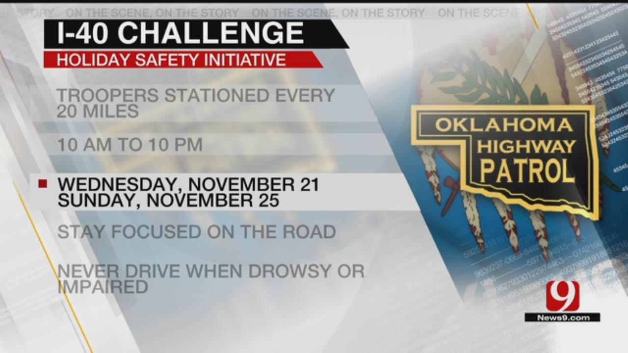 OHP Increasing Trooper Presence For Thanksgiving Travel