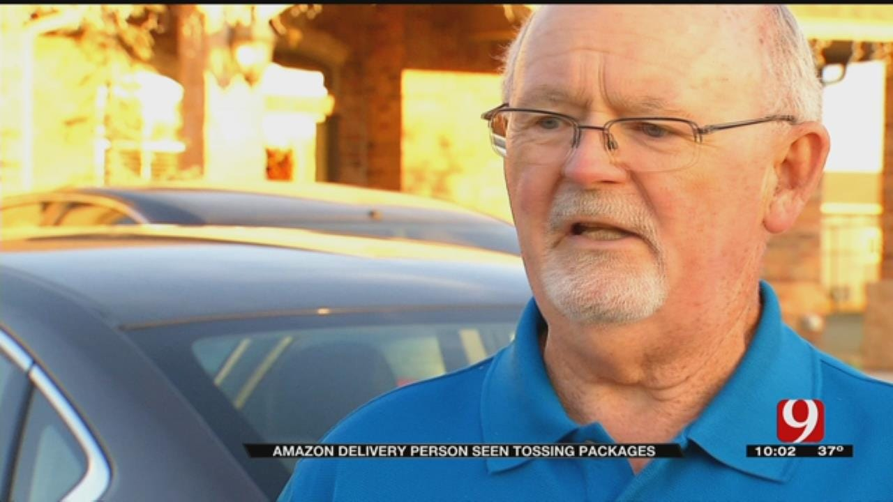 Residents Upset After Drone Video Captures Delivery Driver Hurling Packages In Newcastle
