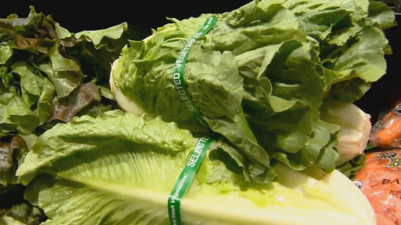 CDC Warns Not To Eat Romaine Lettuce Amid E. Coli Outbreak