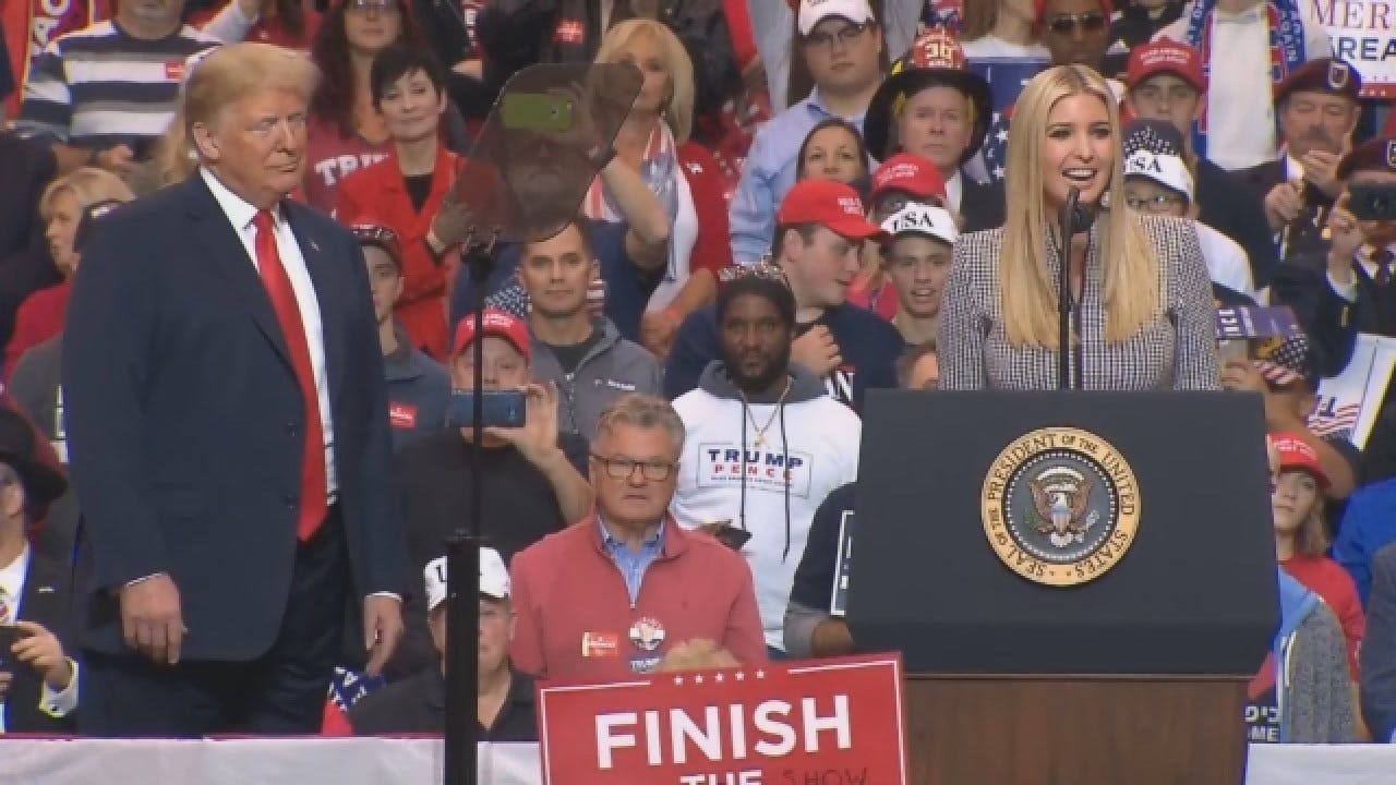 Ivanka Trump Speaks At Ohio 'Make America Great Again' Rally
