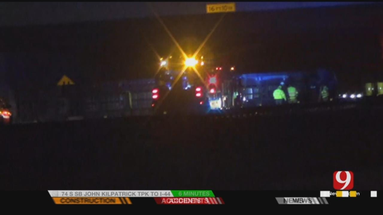 Traffic Diverted Along WB I-40 At Radio Rd. Due To Semi Accident