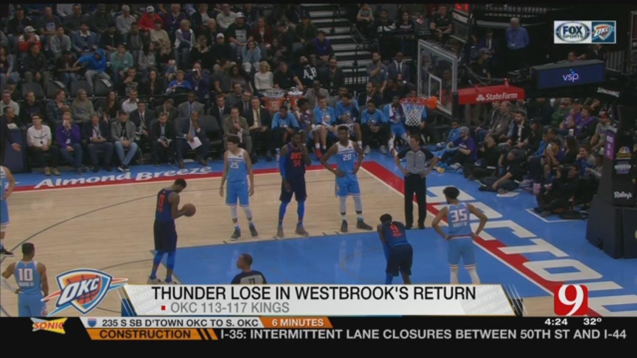 Thunder vs. Kings Recap