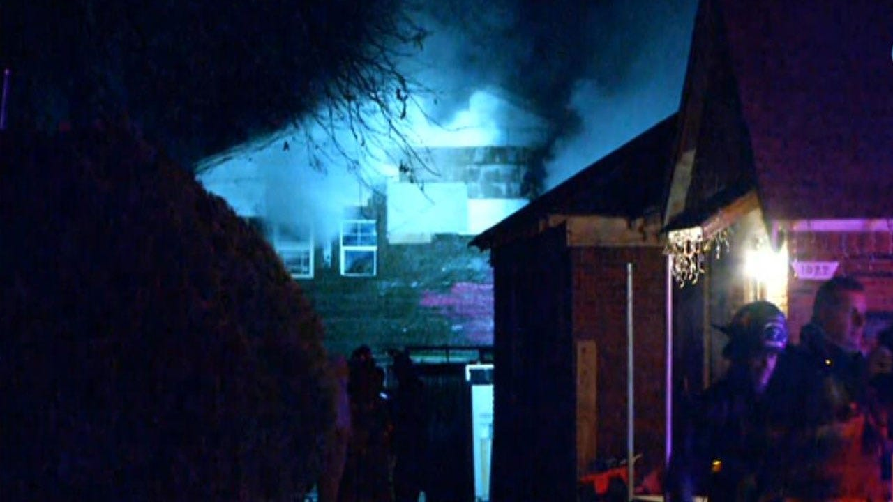 Firefighters Respond To House Fire In SW OKC