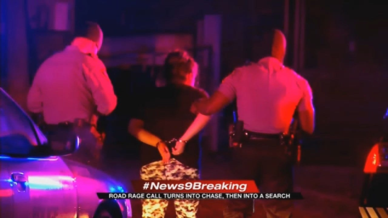 1 Arrested, 1 Outstanding Following SW OKC Police Pursuit