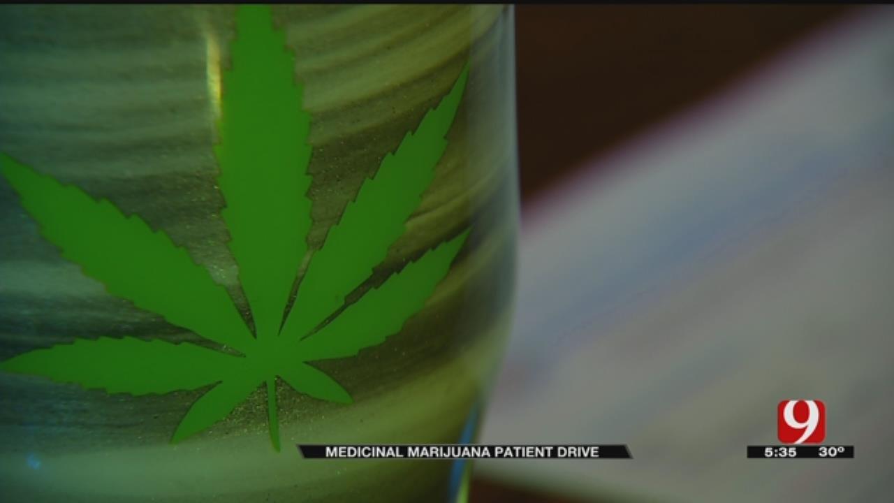 Oklahomans Line Up For Medial Marijuana Patient Drive