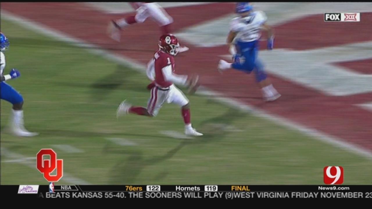Dean's Analysis: Sooners' Offense Outlasts Kansas 55-40