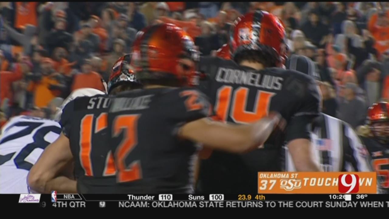 Oklahoma State Comes Back To Stun West Virginia 45-41