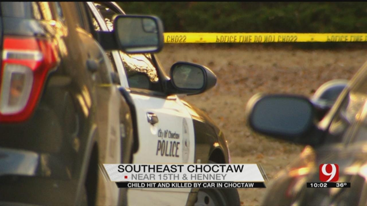 Driveway Crash Kills 1-Year-Old In Choctaw