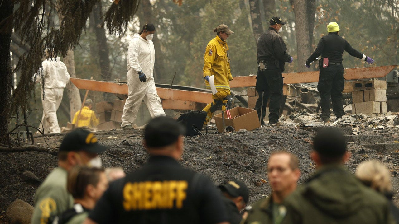 California Fire Death Toll Hits 63; More Than 600 Unaccounted For