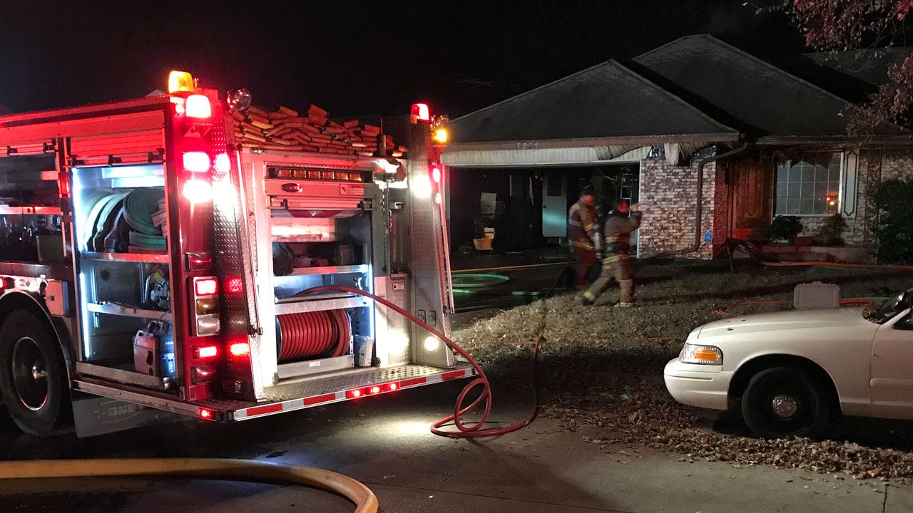 Crews Respond To House Fire In Midwest City