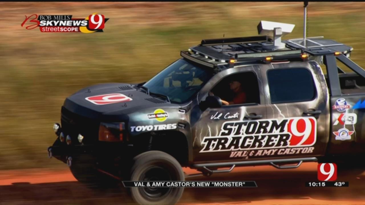 News 9's Val Castor Builds Monster Storm Truck