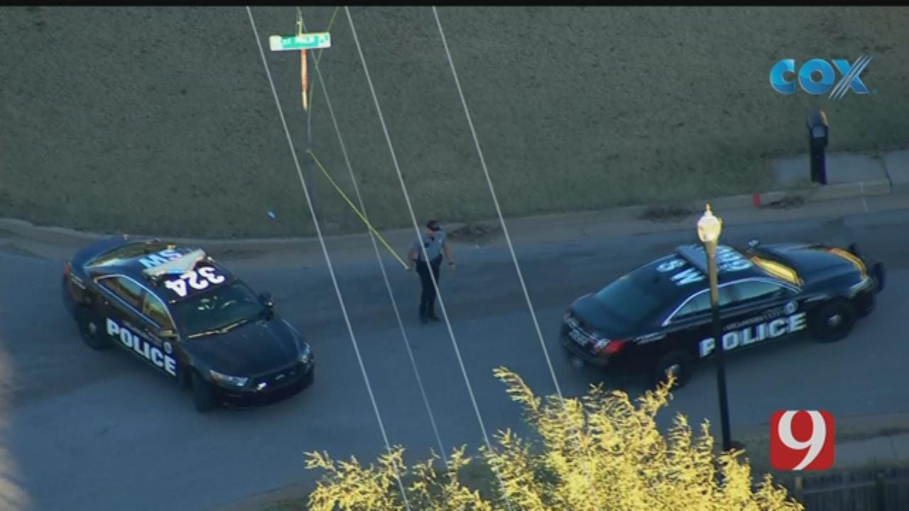 Bob Mills SkyNews 9 Flies Over A Reported Shooting In SW OKC