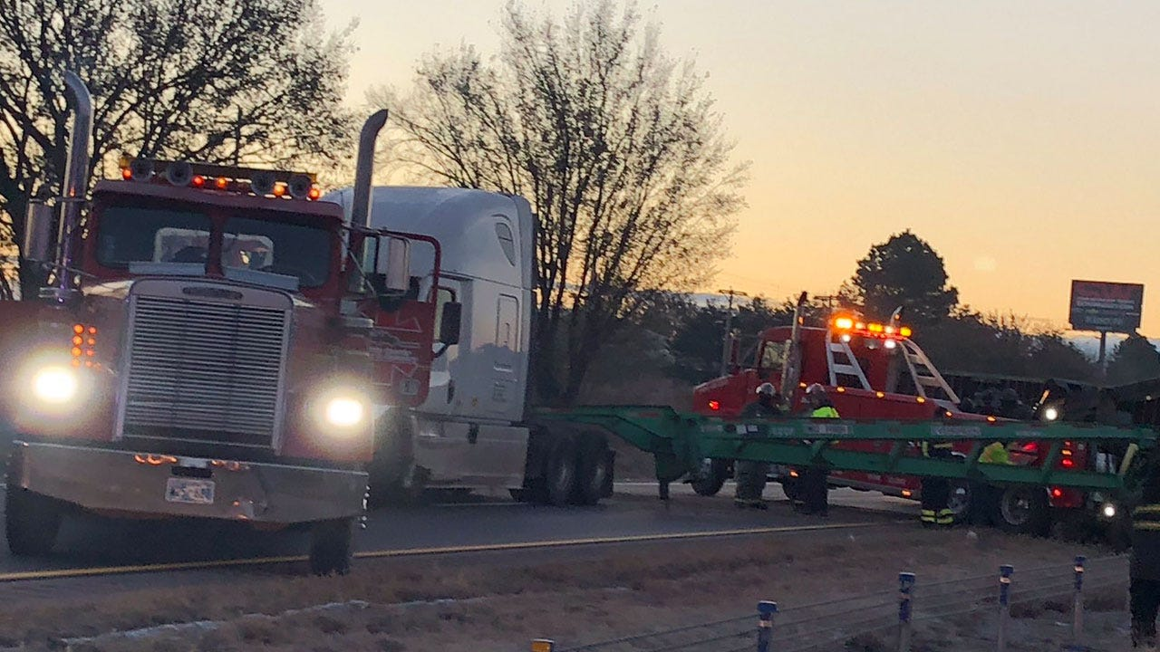 Northbound I-35 Closed North Of Purcell Due To Jack-Knifed Semi