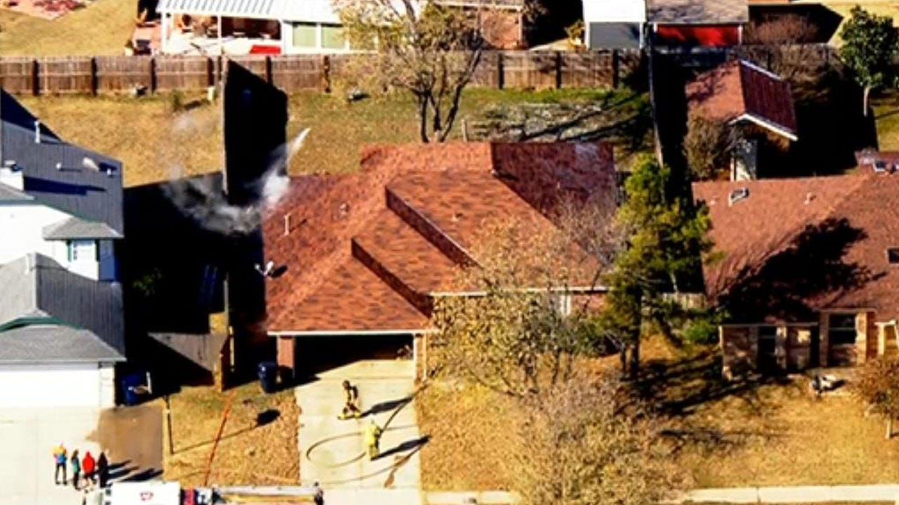 Firefighters Extinguish House Fire In SW OKC