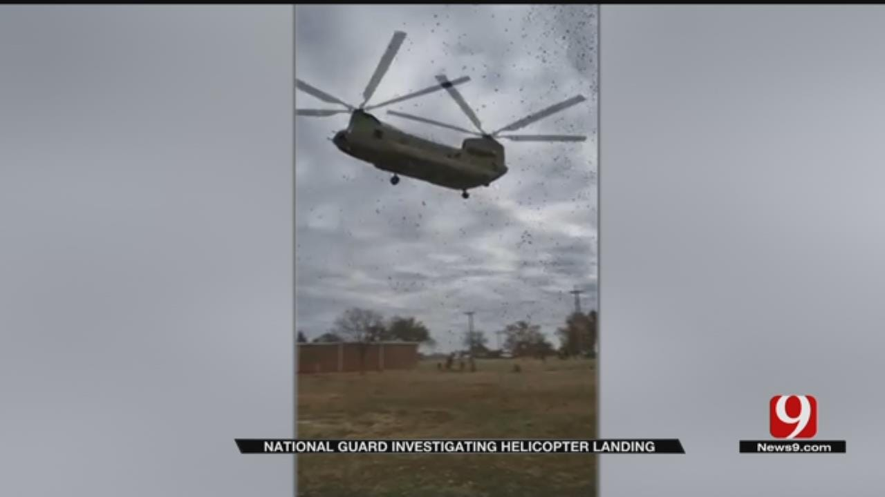 Helicopter Landing Goes Awry At Veterans Day Memorial Parade In Norman