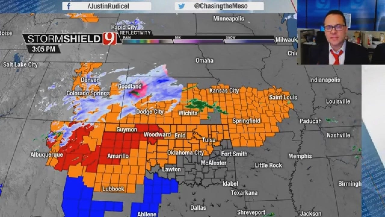 Justin Rudicel Gives A Winter Storm Update