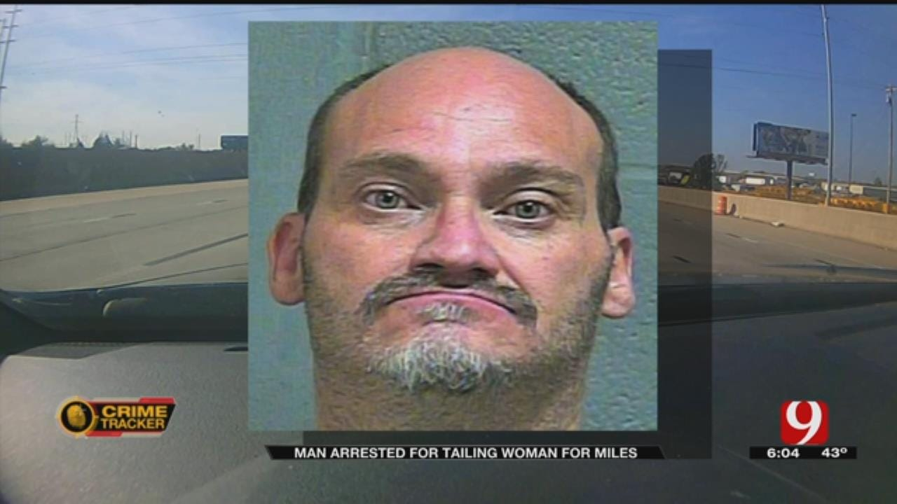 Man Arrested, Accused Of Stalking Woman In Downtown OKC