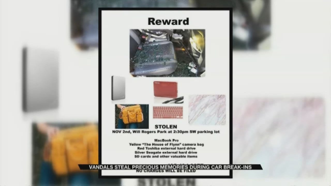 Thieves Break Into Vehicle At Will Rogers Park