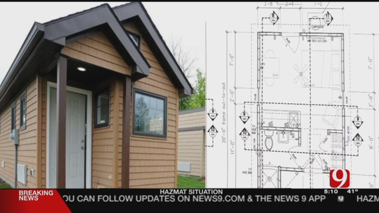 Oklahoma City Nonprofit Building Tiny Houses For Homeless Youth