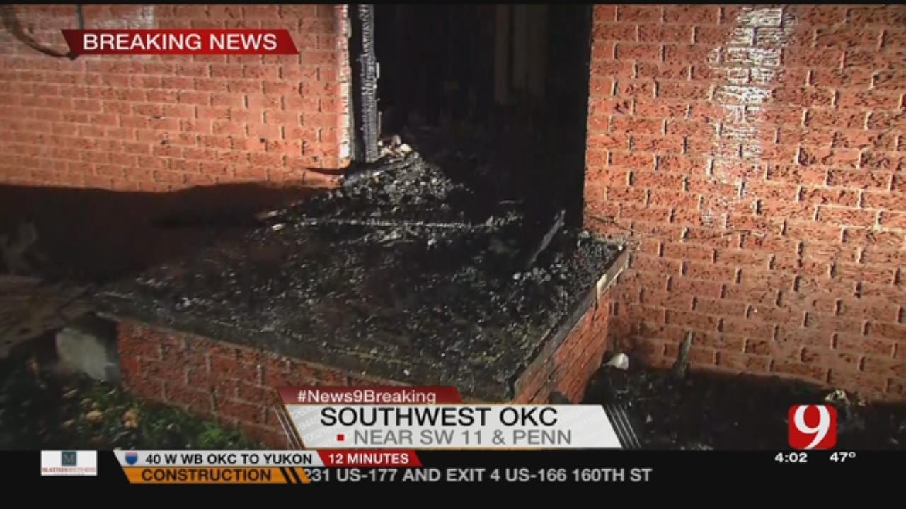 Crews Extinguish Fire In SW OKC