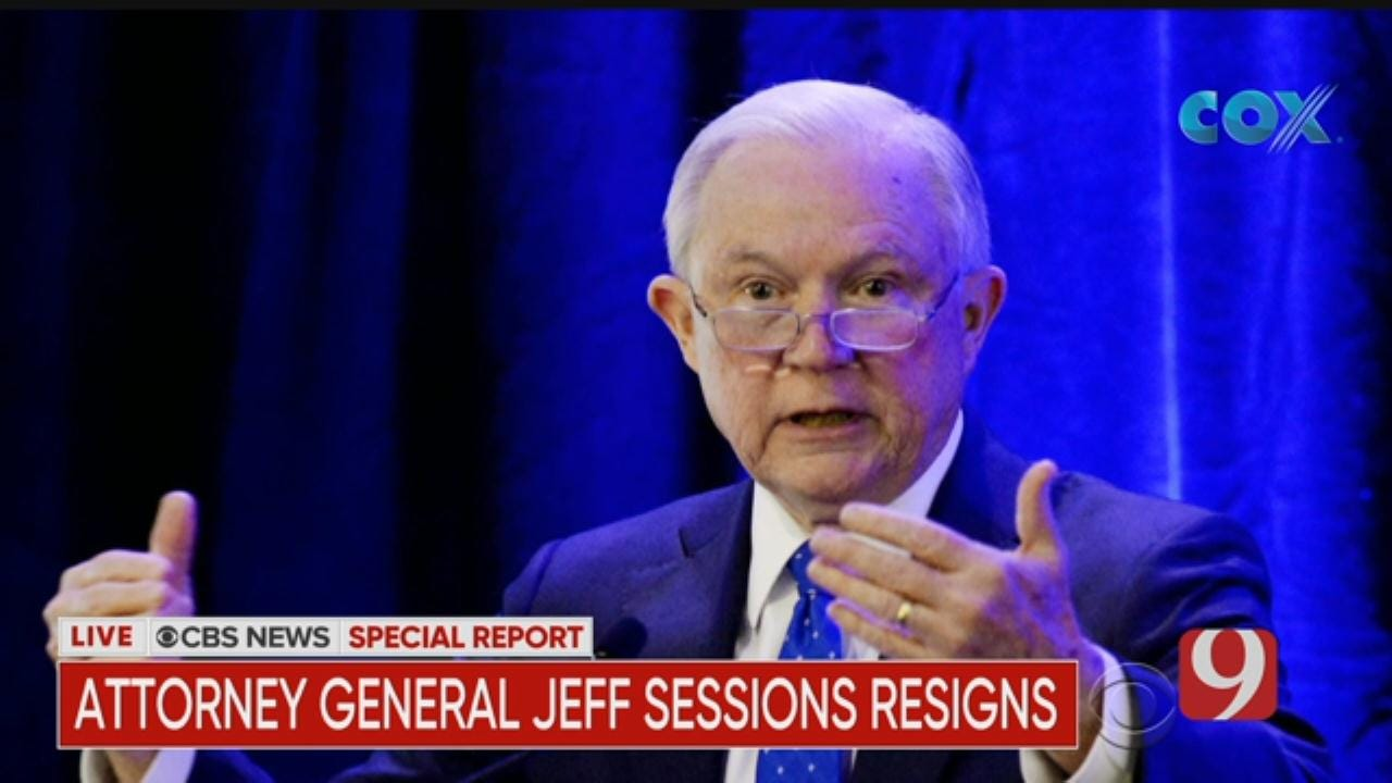 CBS SPECIAL REPORT: Jeff Sessions Resigns As Attorney General