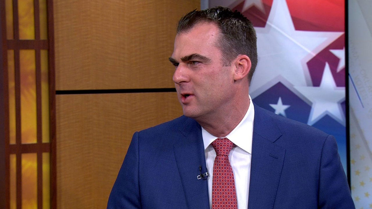 Governor-Elect Kevin Stitt Lays Out Plans For His First Term In Office
