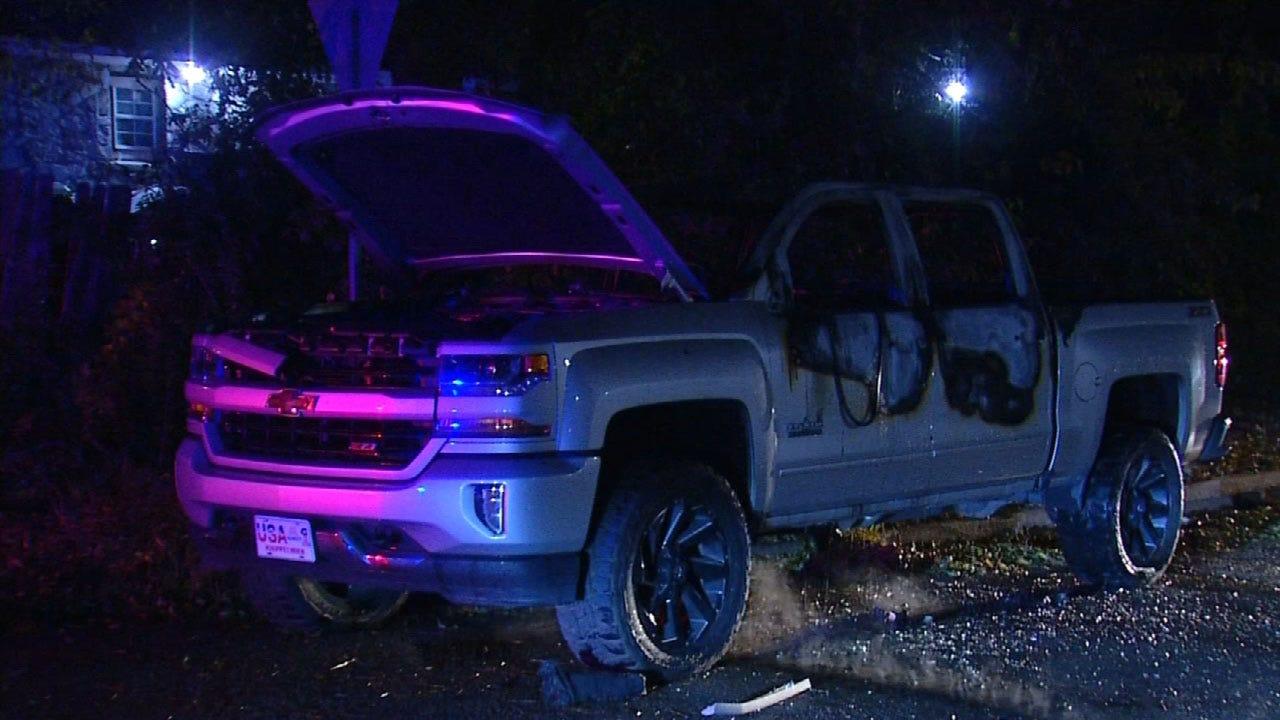 Police Find Stolen Truck In SE OKC