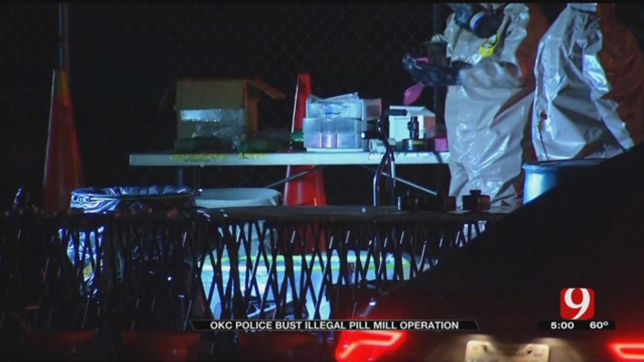 Police Bust Illegal Pill Mill Operation In NW OKC