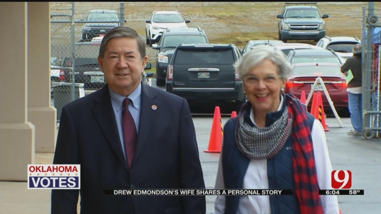 Drew Edmondson's Wife Shares Personal Story On The Campaign Trail